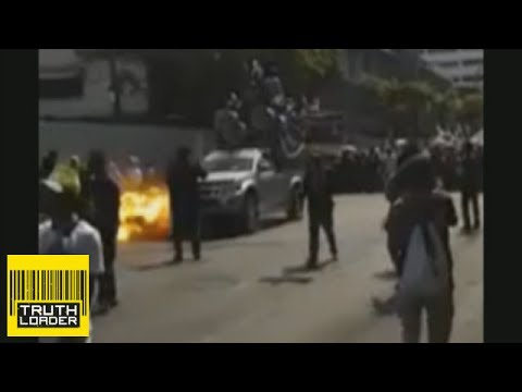 Bangkok bomb blast caught on camera  - Truthloader