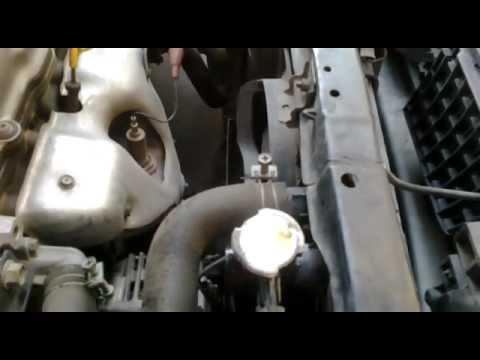 radiador  burbujas nissan sentra   youtube