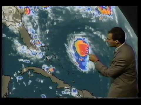 Hurricane Andrew 1992  As It Happened!  Part-1