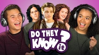 DO TEENS KNOW 90's ROMANCE MOVIES? (REACT: Do They Know It?)