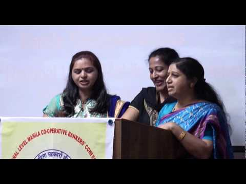 Stree Shakti Powada performed at National Mahila Conference