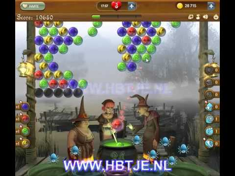 Bubble Witch Saga level 57
