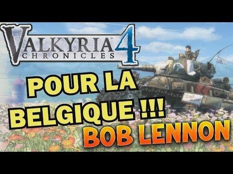 LA GUERRE DES GAUFFRES !!! -Valkyria Chronicles 4- Découverte avec Bob Lennon