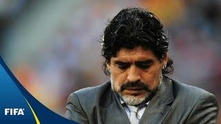 Maradona's Argentina thrashed by Mannschaft