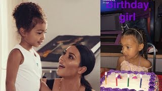 North West Celebrates Her 4th Birthday at Chuck E. Cheese