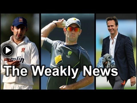 Gautam Gambhir at Essex, Aaron Finch scores 156: The Weakly News - Episode 2