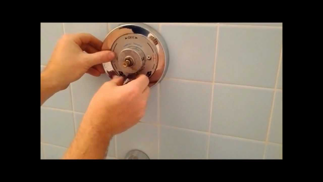 How To Replace A Symmons Shower Tub Spindle And Diverter
