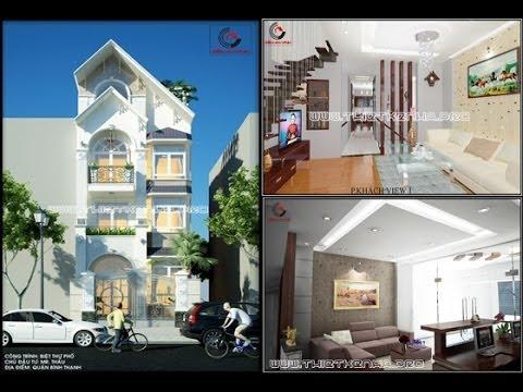 Thiết kế nhà đẹp - Nhà cấp 4 - Nhà ống - Nhà ở - Kiến An Vinh