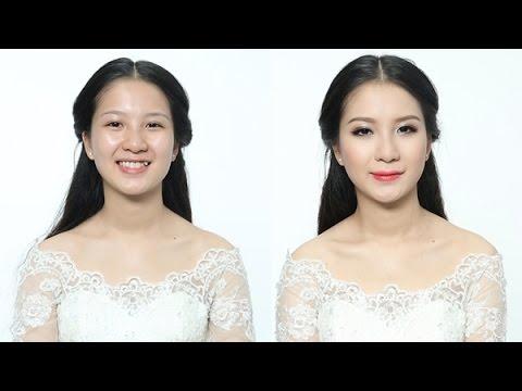 Học trang điểm: Make up cho cô dâu tiệc đêm