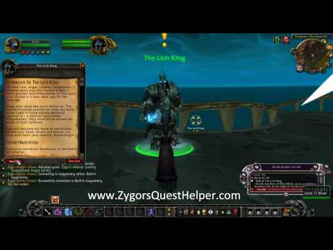 WoW Death Knight Leveling Guide - The Best In Game Death Knight Leveling Guide