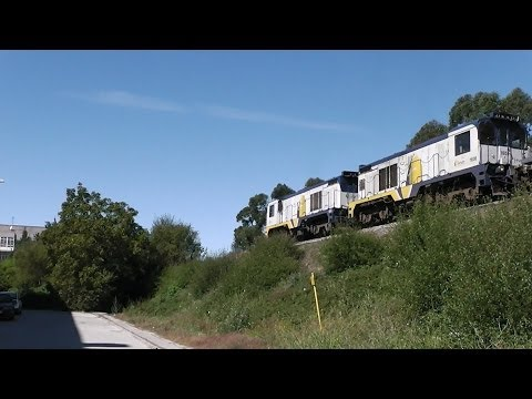 Trenes por la línea Ferrol Gijón, Feve