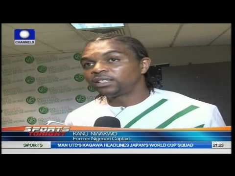 Sports Tonight: Kanu, Okocha, Other Ex Eagles Support Keshi's World Cup List