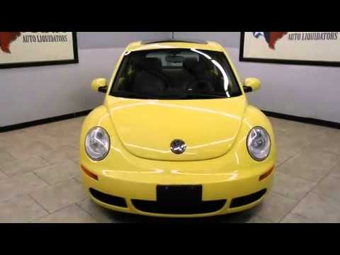 2006 Volkswagen New Beetle Certified Dallas TX
