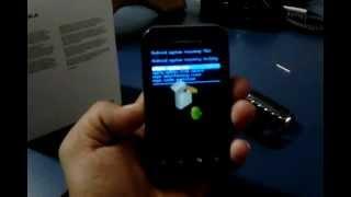 Motorola XT320 DEFY Mini Não Liga E Trava (BOOT No