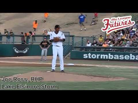 Joe Ross, RHP, San Diego Padres, Pitching Mechanics at 200 fps Side #
