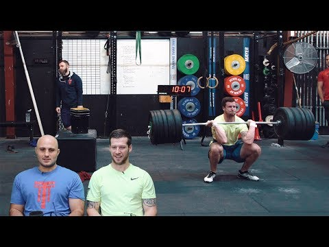 18.2 Travis Mayer Full CrossFit Open Workout w/ Commentary | The Session | Ep.6