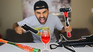 THIS CUP IS UNBREAKABLE!! IMPOSSIBLE CHALLENGE!! *YOU WON'T BELIEVE IT*