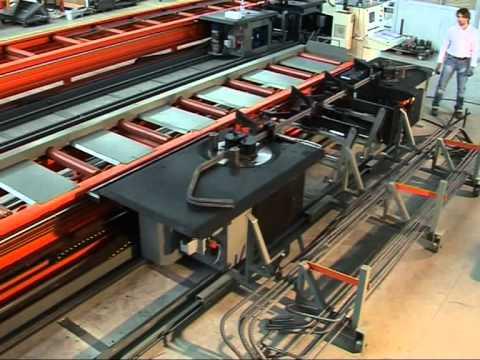 Máquina automática para dobrar barras de aço - Robomaster