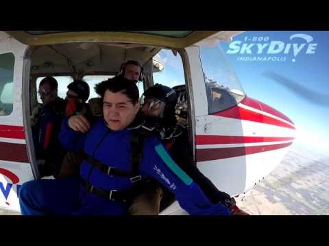 Kevin Mellado's Tandem skydive!
