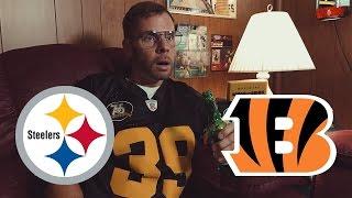 Dad Watches Steelers vs Bengals (Week 2)