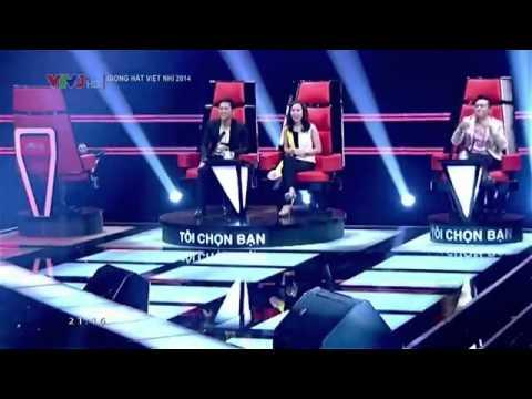 TẬP 1 - Giọng Hát Việt Nhí 2014 - Vòng Giấu Mặt - Nguyễn Phương Uyển Nhi - Sir Duke