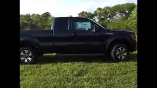 sold.2012 FORD F-150 SUPERCAB FX4 WITH ROUSH CUSTOM EXHAUST CALL 888- 439-8045 videos