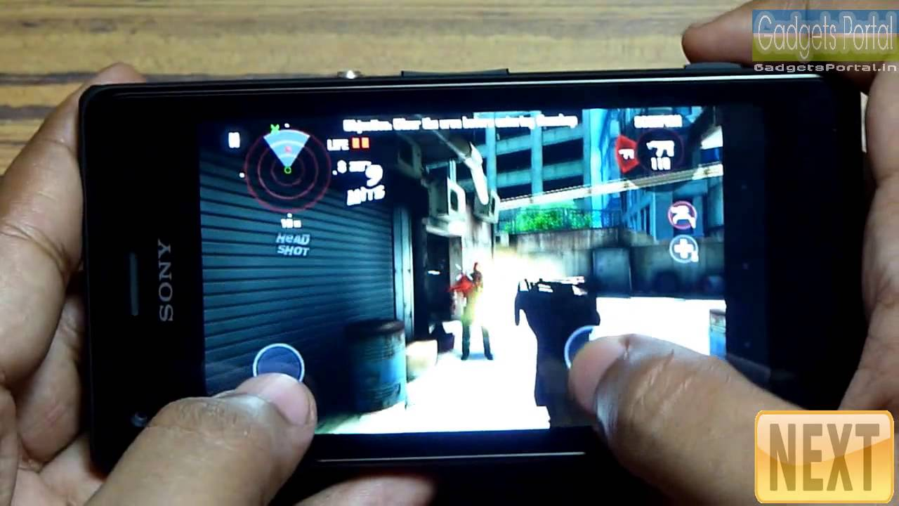 Game trên Xperia M