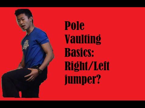 Pole Vault Basics: Right or Left Jumper?