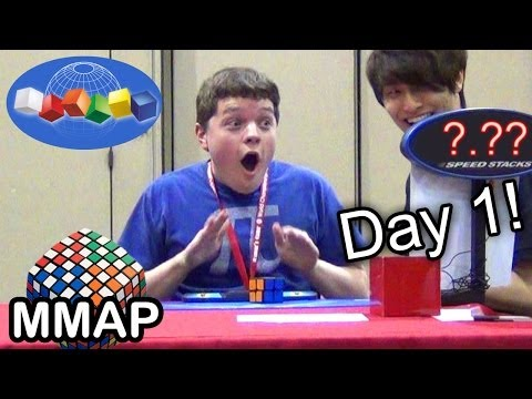 2013 Rubik's Cube World Championship (Day 1)