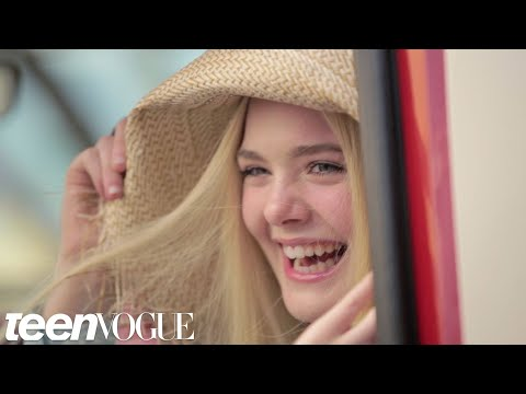 Elle Fanning Talks About Working with Angelina Jolie on 'Maleficent' -- Teen Vogue's The Cover