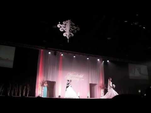 Áo cưới thời trang đẹp nhất 2014 LA Collection wedding show
