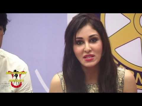 Press conference of Mumbai Marathon Charity with Pooja Chopra, Hiten Tejwani, Prateik Babbar