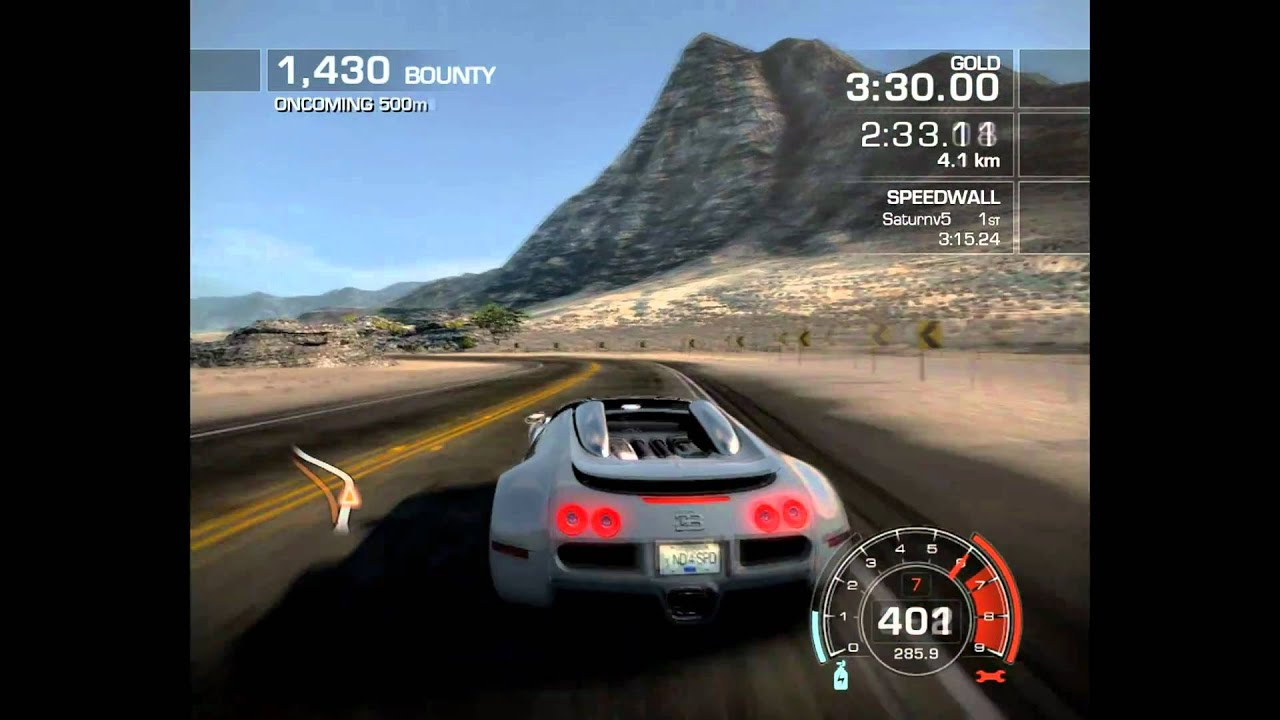 need for speed hot pursuit bugatti veyron youtube. Black Bedroom Furniture Sets. Home Design Ideas