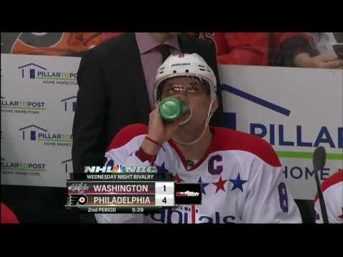 Joel Ward PPG 4-1 Washington Capitals vs Philadelphia Flyers  3/5/14 NHL Hockey.