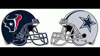 Houston Texans Vs Dallas Cowboys WEEK 5 NFL PREVIEW