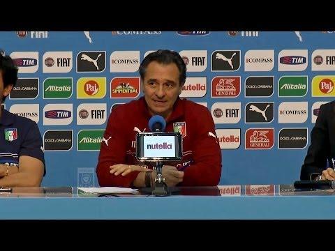 La conferenza stampa integrale di Cesare Prandelli (6 giu 2014) - Mondiali 2014