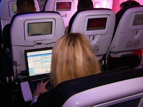Airlines compete for the best wi-fi