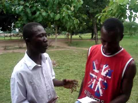 KNUST: Interview on Gari and Beans (Gorbe)