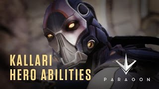 Paragon - Kallari Hero Abilities - Gameplay Video