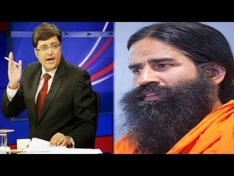 The Newshour Debate: Baba Ramdev insults, BJP silent - Full Debate (25th April 2014)