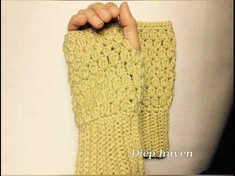 Cách móc găng tay hở ngón phần 1