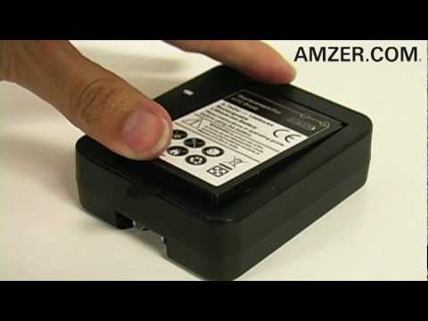 Amzer� Spare Battery Charger with USB Output