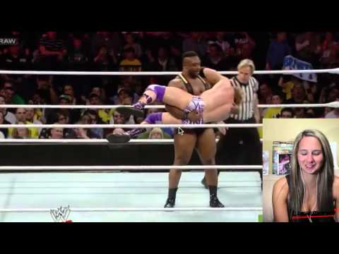 WWE 2015 - WWE RAW 4 22 13   Big E vs Zack Ryder Live Commentary