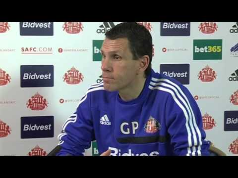 Gus Poyet quashes rumours of his Sunderland departure