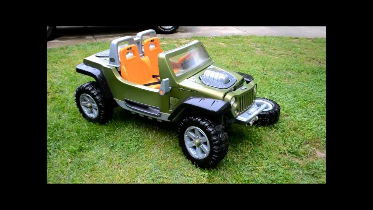 jeep hurricane power wheels up close youtube. Cars Review. Best American Auto & Cars Review