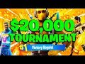 WE DID SO GOOD 20 000 Friday Fortnite Tourney w Upshall ConsoleGang Fortnite Battle Royale
