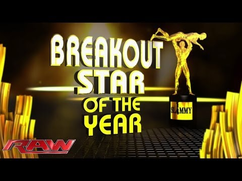 Breakout Star of the Year: 2013 WWE.com Slammy Award Presentation