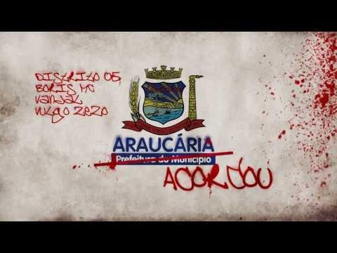 RAP Araucaria - Araucária Acordou
