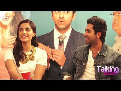 Ayushmann Khurrana-Sonam Kapoor Fun Interview On Bewakoofiyaan Part 7
