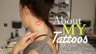 About My Tattoos! SoTotallyVlog